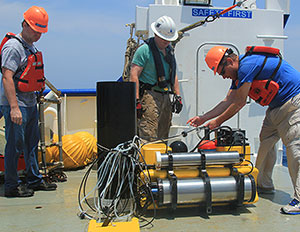 Successful GOMRI deployment of Franatech laser-based sniffer in the Gulf of Mexico